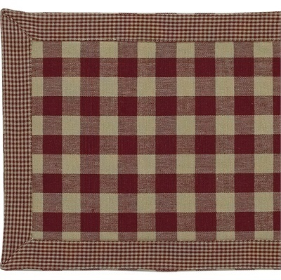 "York Table Runner<BR>13 x 36""<BR>Wine"