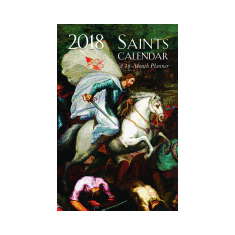2018 SAINTS CALENDAR & 16 MONTH PLANNER