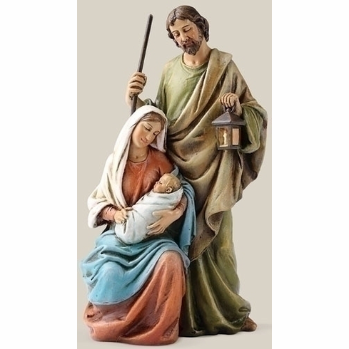 """6"""" HOLY FAMILY STATUE"""