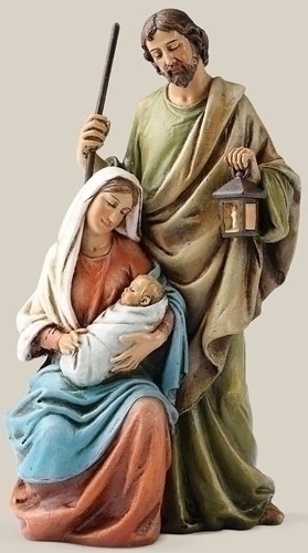 "6"" HOLY FAMILY STATUE"