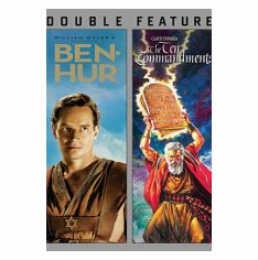 BEN-HUR / TEN COMMANDMENTS (DOUBLE FEATURE)