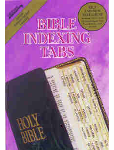 BIBLE TABS - REGULAR