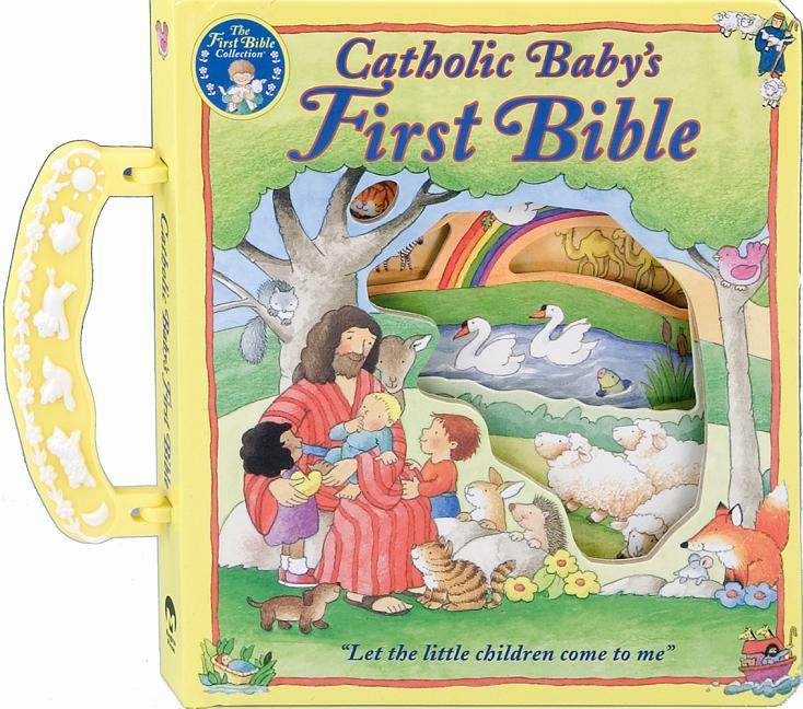CATHOLIC BABY'S FIRST BIBLE WITH HANDLE