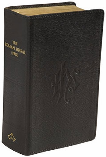 DAILY MISSAL - 1962 TRADITIONAL RITE - LEATHER