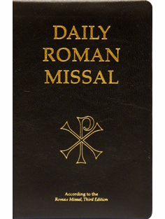 DAILY ROMAN MISSAL BONDED LEATHER REVISED