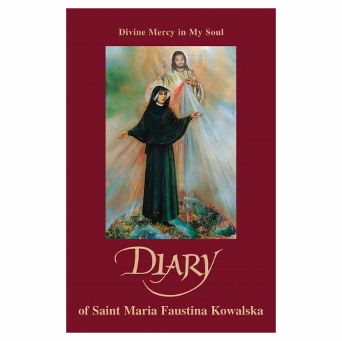 DIVINE MERCY IN MY SOUL-DIARY OF ST FAUSTINA-LARGE TYPE