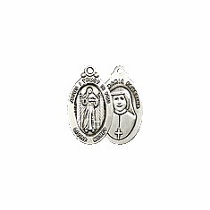 DIVINE MERCY - STERLING SILVER