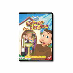 DVD BROTHER FRANCIS - BORN INTO THE KINGDOM