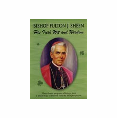 DVD FULTON SHEEN - HIS IRISH WIT & WISDOM