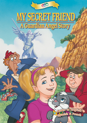 DVD MY SECRET FRIEND - GUARDIAN ANGEL STORY