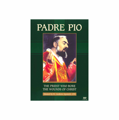 DVD PADRE PIO - THE PRIEST WHO BORE THE WOUNDS OF CHRIST