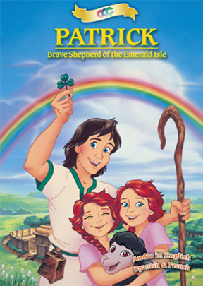 DVD PATRICK - BRAVE SHEPHERD OF EMERALD ISLE