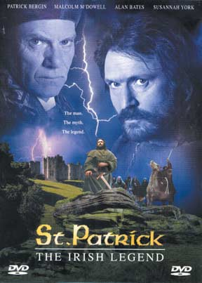 DVD ST. PATRICK  - THE IRISH LEGEND