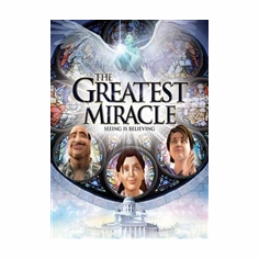 DVD THE GREATEST MIRACLE-ANGELS ARE ALL AROUND US