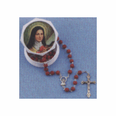 GENUINE ROSE-PETAL ROSARY