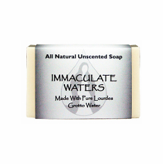 IMMACULATE WATER  ALL NATURAL UNSCENTED SOAP