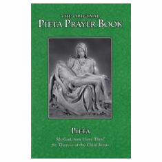 LARGE PRINT PIETA PRAYER BOOK-ENGLISH