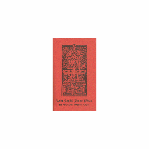 LATIN-ENGLISH BOOKLET MISSAL - TRADITIONAL MASS