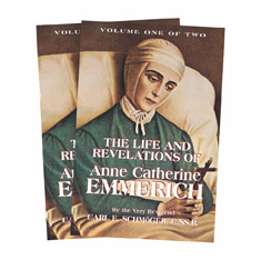 LIFE OF ANNE CATHERINE EMMERICH - 2 VOL. SET