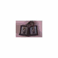 LITTLE FLOWER BROWN SCAPULAR - 100% WOOL