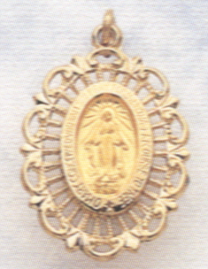 MIRACULOUS MEDAL - 14KT GOLD