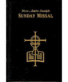 NEW ST. JOSEPH SUNDAY MISSAL - CLOTH HB