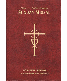 NEW ST. JOSEPH SUNDAY MISSAL - VINYL COVER