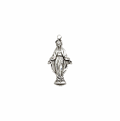 OUR LADY OF GRACE - STERLING SILVER