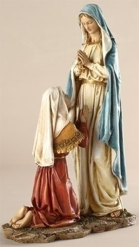 OUR LADY OF LOURDES - 10""