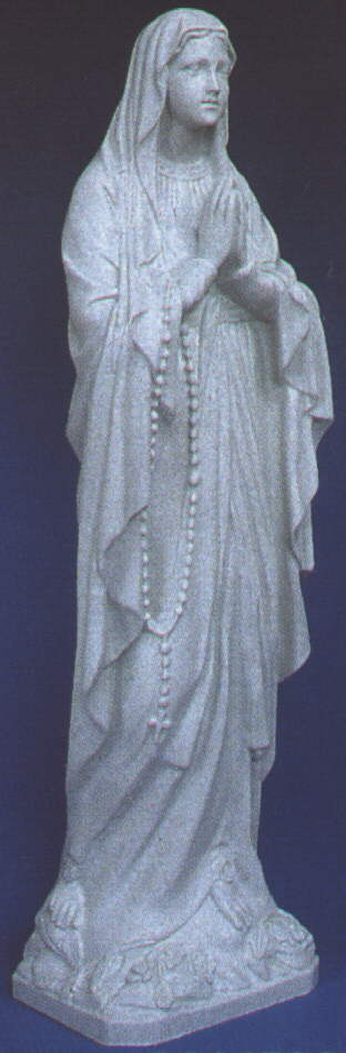 """OUR LADY OF LOURDES - 24"""""""