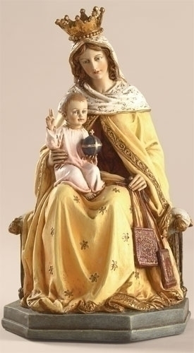OUR LADY OF MOUNT CARMEL - 8""