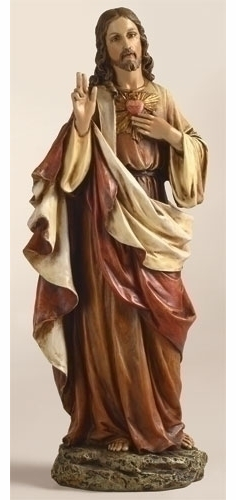 SACRED HEART OF JESUS - 10.5""