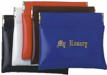 SQUEEZE-TOP ROSARY CASE