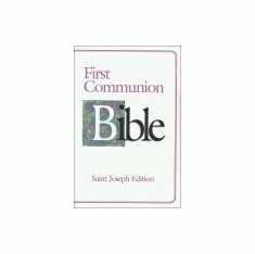 ST. JOSEPH FIRST COMMUNION BIBLE GIRL