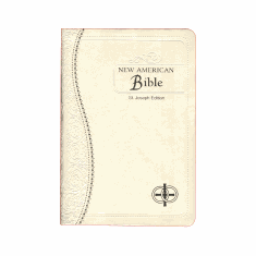 ST JOSEPH MEDIUM WEDDING BIBLE  NEW AMERICAN BIBLE REVISED