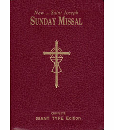 ST. JOSEPH SUNDAY MISSAL - LARGE PRINT EDITION