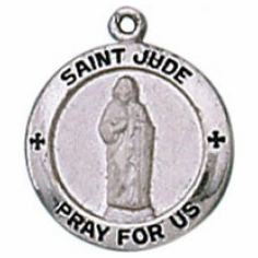 ST. JUDE - STERLING SILVER