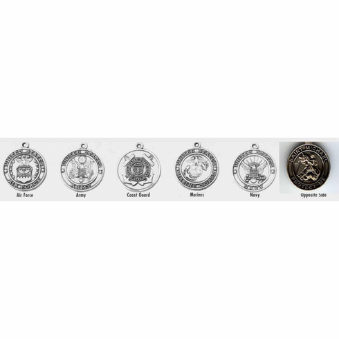 ST. MICHAEL / MILITARY - STERLING SILVER