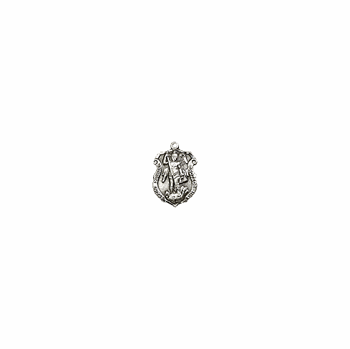 ST. MICHAEL - STERLING SILVER