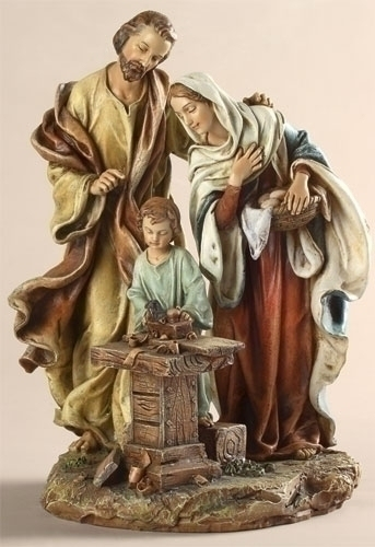 THE HOLY FAMILY - 9.5""