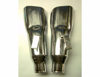 Accurate Exhaust Chrome Tips - (1Left)