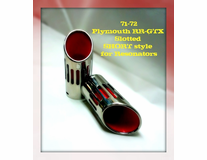 Accurate Exhaust Short Style Tips - (1Left)