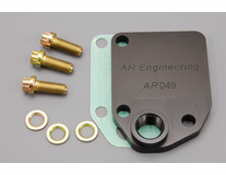 AE Engineering - B/RB & HEMI Block Plate, NPT Fitting