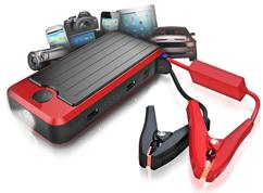 All-in-One PowerBank, Jump Start, and LED Flashlight!