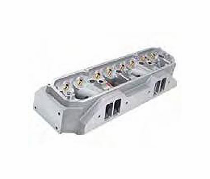 Edelbrock Alum Cylinder Head, Stage VII - Raised Port