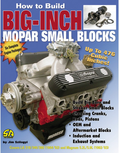 how to build big inch small block mopars