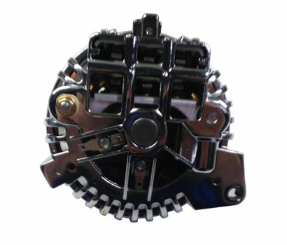 Mancini Racing Chrome Squareback Alternator - image1