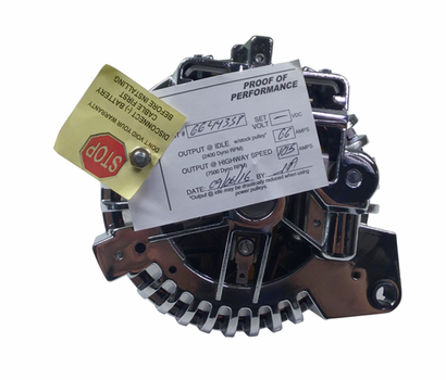 Mancini Racing Chrome Squareback Alternator - image2