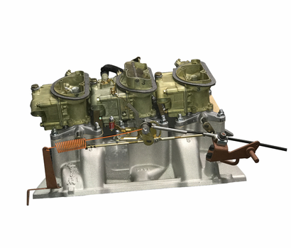 Mancini Racing Six Pack Assembly - 413-440 Engines