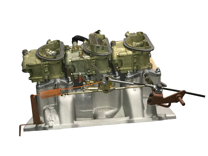 Mancini Racing Six Pack Assembly - 361-383-400 Engines